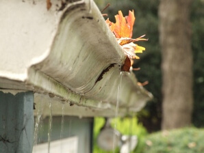 South Carolina clogged gutters